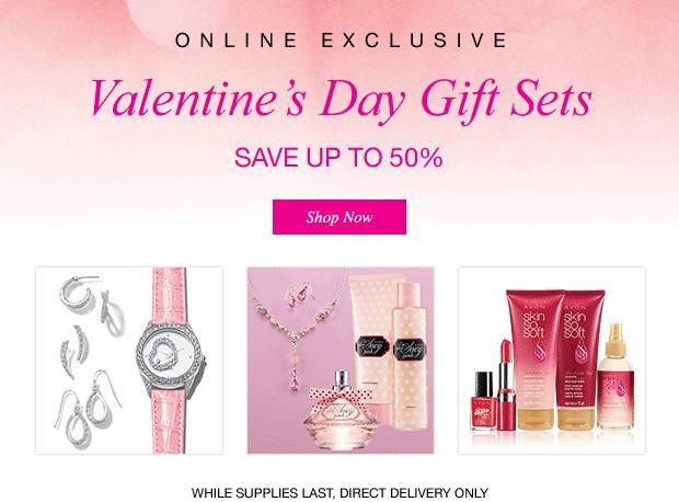Avon has great Valentine\'s Day Gifts Sets | beautifulvalue