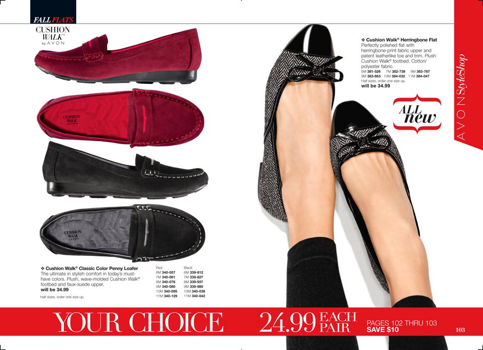 Avon Cushion Walk Shoes $24.99 for a