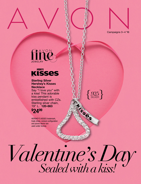 Avon sterling silver hersheys kisses necklace 2499 beautifulvalue mozeypictures Choice Image