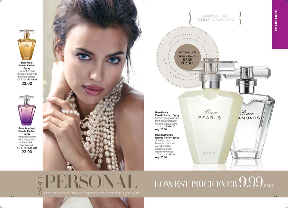 Avon Rare Pearls Rare Diamond Perfumes On Sale 999 Beautifulvalue